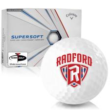 Callaway Golf Supersoft Radford Highlanders Golf Balls