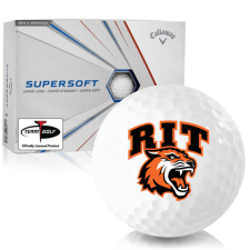 Callaway Golf Supersoft RIT - Rochester Institute of Technology Tigers Golf Balls