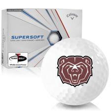 Callaway Golf Supersoft Southwest Missouri State Bears Golf Balls