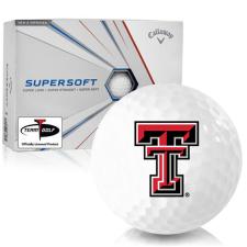 Callaway Golf Supersoft Texas Tech Red Raiders Golf Balls