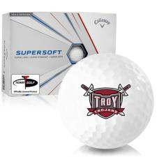 Callaway Golf Supersoft Troy Trojans Golf Balls