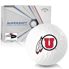 Callaway Golf Supersoft Utah Utes Golf Balls