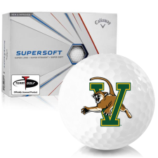 Callaway Golf Supersoft Vermont Catamounts Golf Balls
