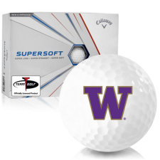 Callaway Golf Supersoft Washington Huskies Golf Balls