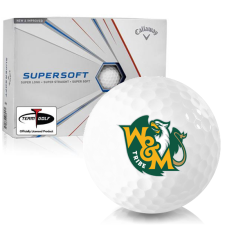 Callaway Golf Supersoft William & Mary Tribe Golf Balls