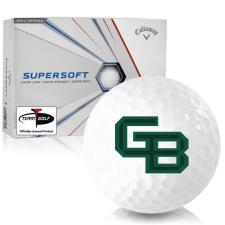 Callaway Golf Supersoft Wisconsin Green Bay Phoenix Golf Balls