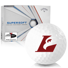 Callaway Golf Supersoft Wisconsin La Crosse Eagles Golf Balls