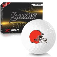 Srixon Z-Star 7 Cleveland Browns Golf Balls