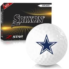 Srixon Z-Star 7 Dallas Cowboys Golf Balls