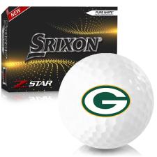 Srixon Z-Star 7 Green Bay Packers Golf Balls