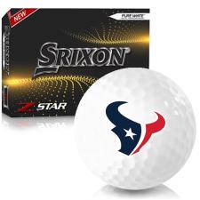 Srixon Z-Star 7 Houston Texans Golf Balls