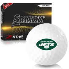 Srixon Z-Star 7 New York Jets Golf Balls