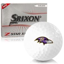 Srixon Z-Star XV 7 Baltimore Ravens Golf Balls