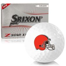 Srixon Z-Star XV 7 Cleveland Browns Golf Balls
