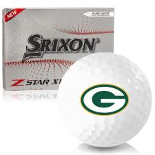 Srixon Z-Star XV 7 Green Bay Packers Golf Balls