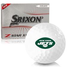 Srixon Z-Star XV 7 New York Jets Golf Balls