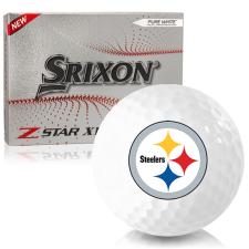 Srixon Z-Star XV 7 Pittsburgh Steelers Golf Balls