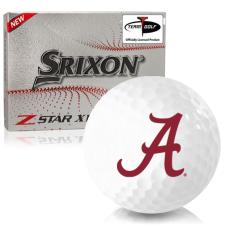Srixon Z-Star XV 7 Alabama Crimson Tide Golf Balls