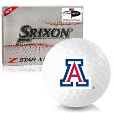Srixon Z-Star XV 7 Arizona Wildcats Golf Balls