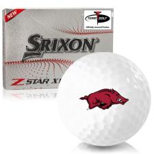 Srixon Z-Star XV 7 Arkansas Razorbacks Golf Balls