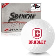Srixon Z-Star XV 7 Bradley Braves Golf Balls