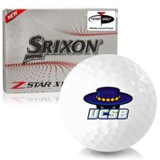 Srixon Z-Star XV 7 Cal Santa Barbara Gauchos Golf Balls