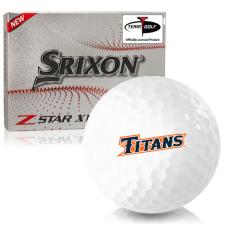 Srixon Z-Star XV 7 Cal State Fullerton Titans Golf Balls