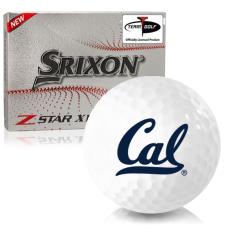 Srixon Z-Star XV 7 California Golden Bears Golf Balls