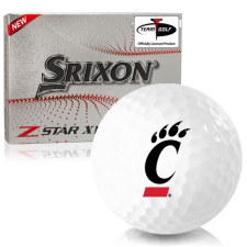 Srixon Z-Star XV 7 Cincinnati Bearcats Golf Balls