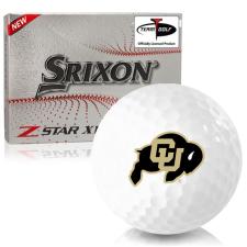 Srixon Z-Star XV 7 Colorado Buffaloes Golf Balls