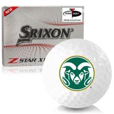 Srixon Z-Star XV 7 Colorado State Rams Golf Balls