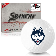 Srixon Z-Star XV 7 UConn Huskies Golf Balls