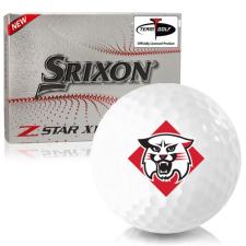 Srixon Z-Star XV 7 Davidson Wildcats Golf Balls