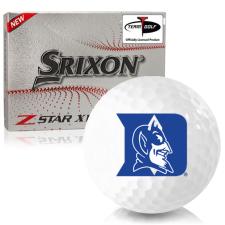 Srixon Z-Star XV 7 Duke Blue Devils Golf Balls