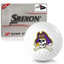 Srixon Z-Star XV 7 East Carolina Pirates Golf Balls