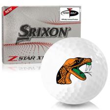Srixon Z-Star XV 7 Florida A&M Rattlers Golf Balls