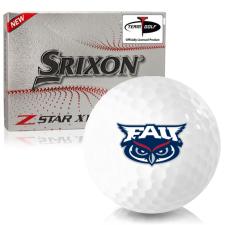 Srixon Z-Star XV 7 Florida Atlantic Owls Golf Balls