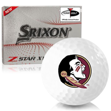Srixon Z-Star XV 7 Florida State Seminoles Golf Balls