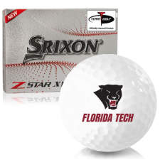 Srixon Z-Star XV 7 Florida Tech Panthers Golf Balls