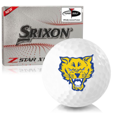 Srixon Z-Star XV 7 Fort Valley State Wildcats Golf Balls