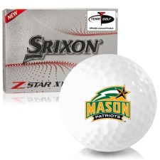 Srixon Z-Star XV 7 George Mason Patriots Golf Balls