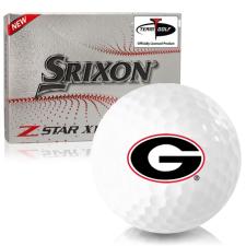 Srixon Z-Star XV 7 Georgia Bulldogs Golf Balls