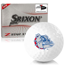 Srixon Z-Star XV 7 Gonzaga Bulldogs Golf Balls