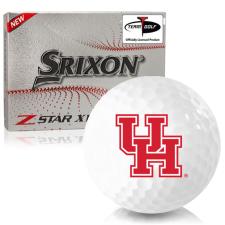 Srixon Z-Star XV 7 Houston Cougars Golf Balls