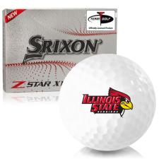Srixon Z-Star XV 7 Illinois State Redbirds Golf Balls