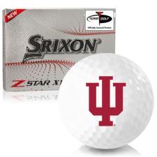 Srixon Z-Star XV 7 Indiana Hoosiers Golf Balls