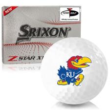 Srixon Z-Star XV 7 Kansas Jayhawks Golf Balls