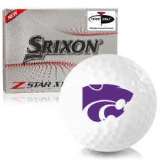 Srixon Z-Star XV 7 Kansas State Wildcats Golf Balls