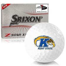 Srixon Z-Star XV 7 Kent State Golden Flashes Golf Balls