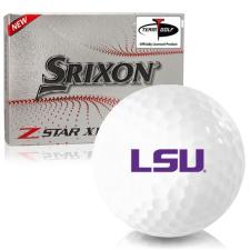 Srixon Z-Star XV 7 LSU Tigers Golf Balls